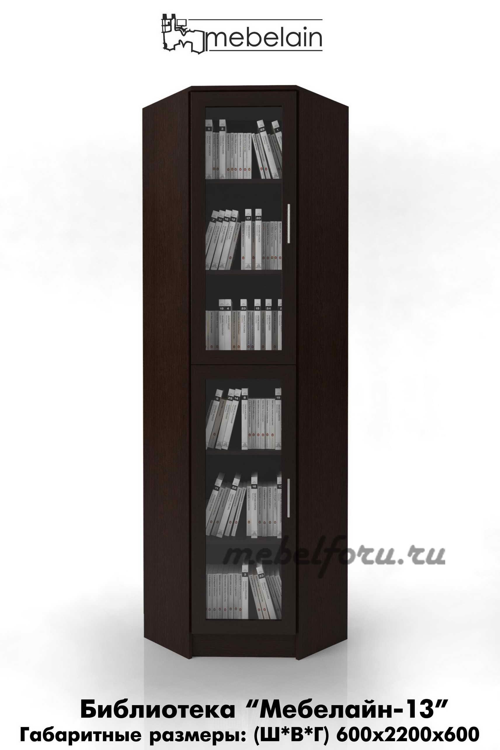 Библиотеки для книг удобные шкафы с ящиками - интернет-магаз.