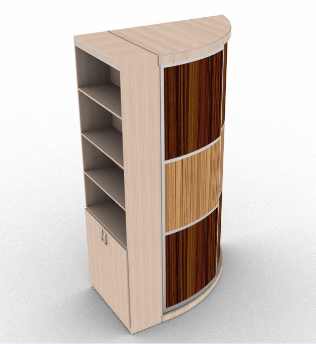 Радиусный шкаф радстелл угловой в москве по минимальным цена.